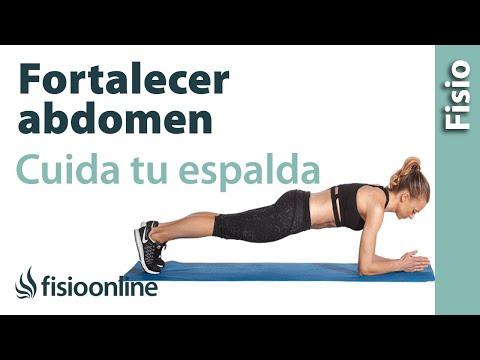 ejercicios abdominales que no dañen la espalda