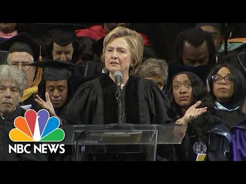 Hillary Clinton Mentions Portland Stabbing Attack In Speech To Medgar Evers Grads | NBC News
