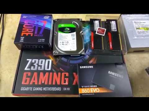How to install inlet CPU core i7 8700k on a Motherboard Z390 Gaming X 9th  Gen Supported | Tech Land