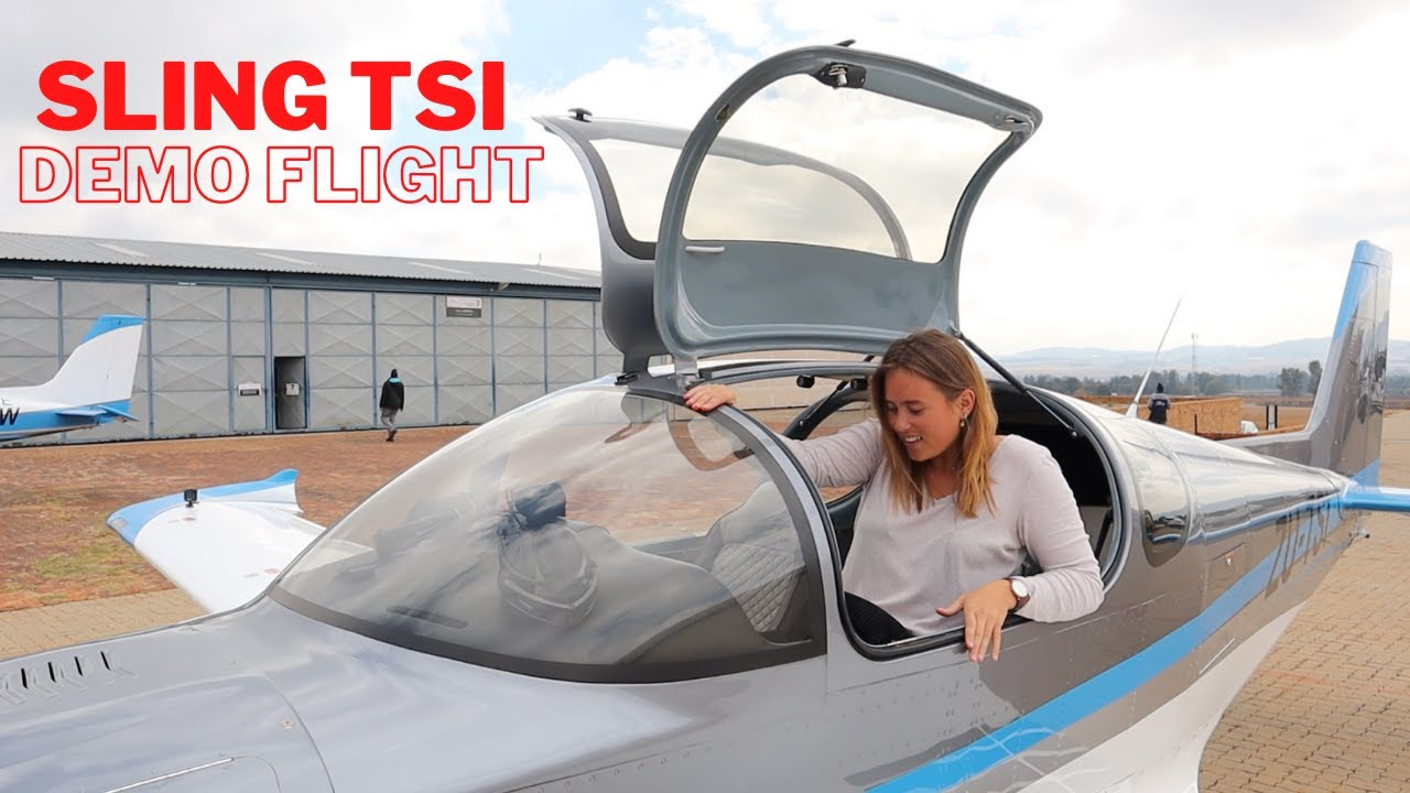 Vidéo test en vol Sling TSi.
