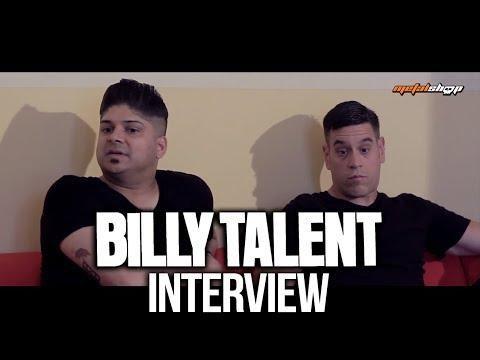 BILLY TALENT - Interview Prague 2017