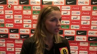 Jackie Groenen baalt van gelijkspel Oranje tegen Ierland
