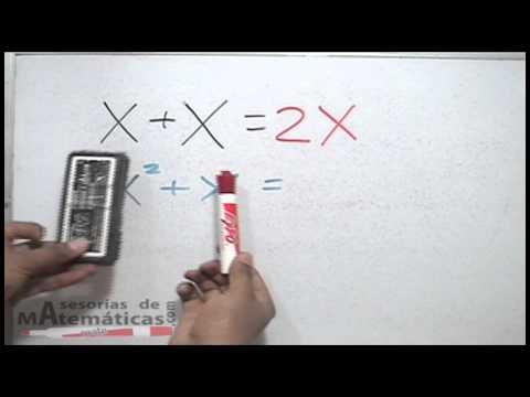 Error tipico al sumar terminos algebraicos semejantes - HD thumbnail
