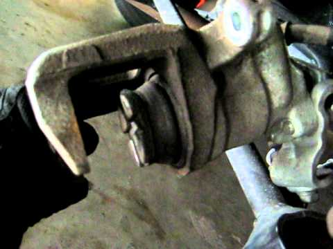 2008 2010 Honda Accord Removing Rear Brake Caliper From