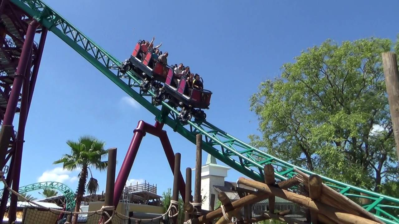 Cobra 39 s curse at busch gardens tampa youtube for Busch gardens tampa bay cobra s curse