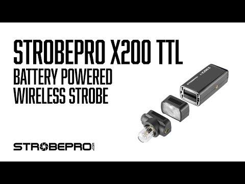 Strobepro X200 TTL Lithium Flash