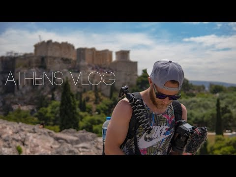 Athens Vlog - Travel Greece 2018 - Backpacking Summer in Europe