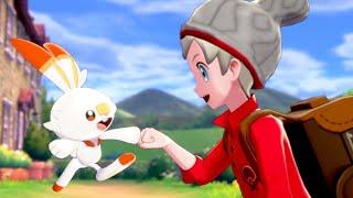 Pokémon Sword & Shield: Walkthrough Part 1 - Intro, Starters With Scorbunny!