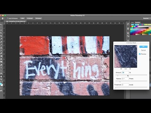 Photoshop Tutorial - Enhancing an Image for Print