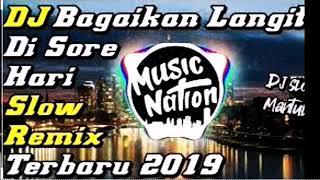 Dj BAGAIKAN LANGIT DI SORE HARI SLOW REMIX DJ TERBARU 2020