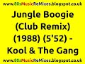 Download Jungle Boogie (Club Remix) - Kool & The Gang | 80s Club Mixes | 80s Club Music | 80s Dance Music MP3 song and Music Video