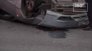 """Опубликованы кадры с места аварии, в которой погиб актер """"Физрука"""""""
