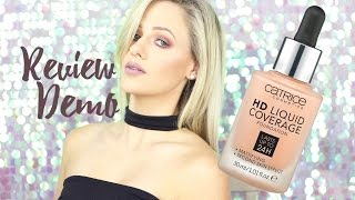 REVIEW & DEMO : The Catrice HD Liquid Coverage Foundation
