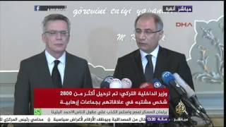 وزير الداخلية التركي: تدابير جديدة لمنع تدفق الإرهابيين