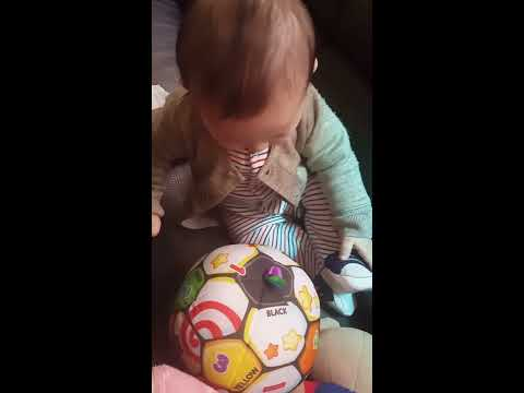 Fisher-Price Laugh & Learn Singin Soccer Ball | Baby Demo