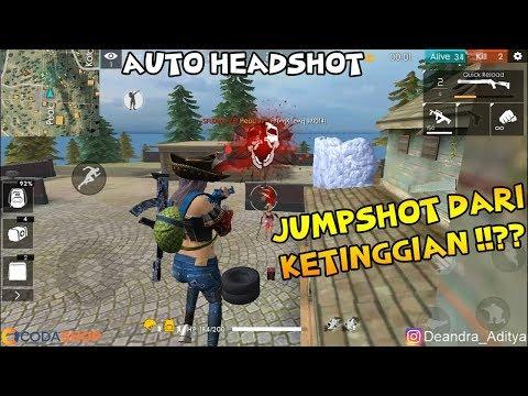 JUMPSHOT DARI KETINGGIAN AUTO HEADSHOT!!?? - FREE FIRE INDONESIA