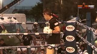 Muay Thai Combat Mania 2012 Riccione: Imwiset Pornnarai vs Eddie Martinez