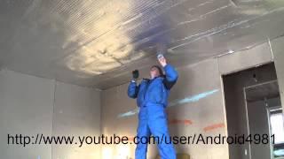 видео Баня стены конденсат / Condensation on the walls of the bath