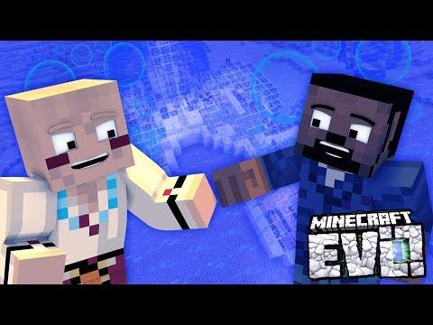 UNDERWATER BASE! - Minecraft Evolution SMP #42