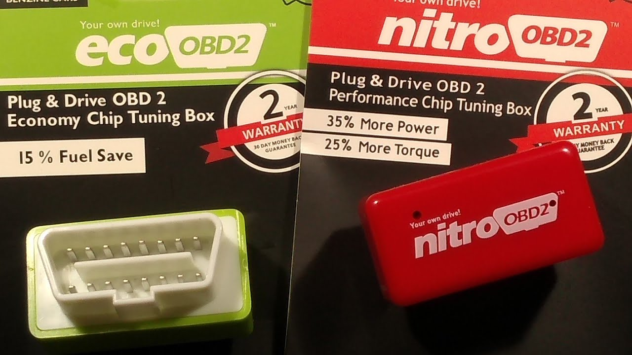 How the OBD2 performance chip power booster and ECU remap module works
