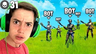 What if there was ONLY AI BOTS in a lobby? (Dan D VS Bots Rampage)