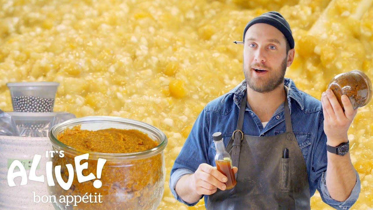 Brad Makes Miso Paste | It's Alive | Bon Appétit