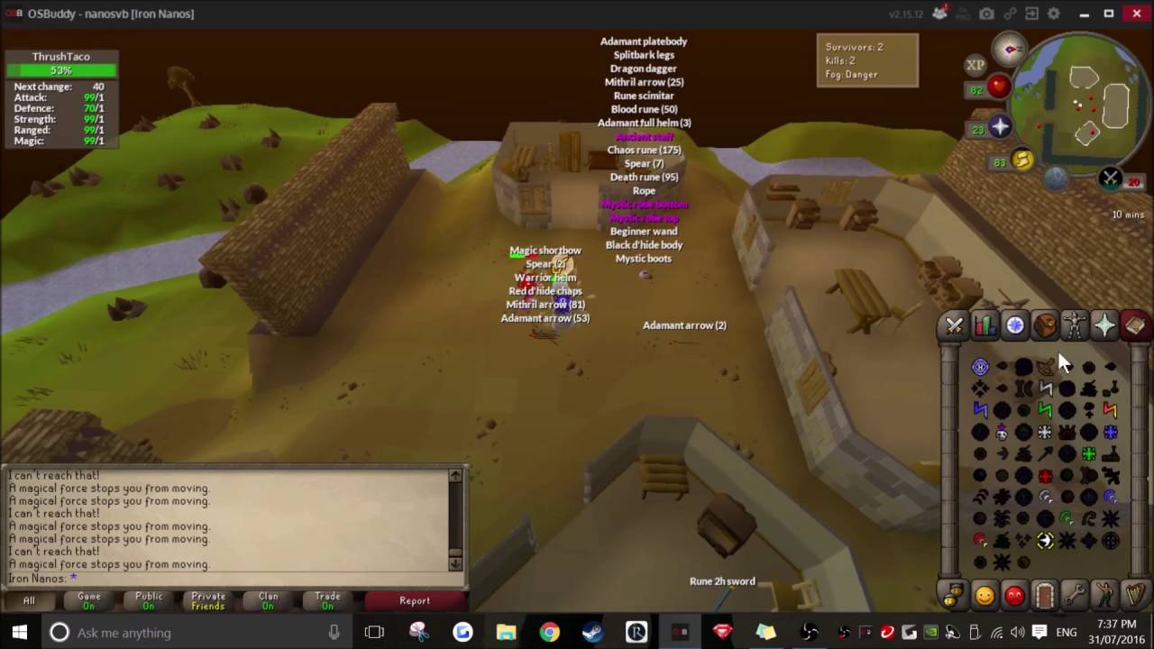 My Osrs Lms Wins Youtube