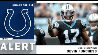 Devin Funchess Welcome to the Colts 2019