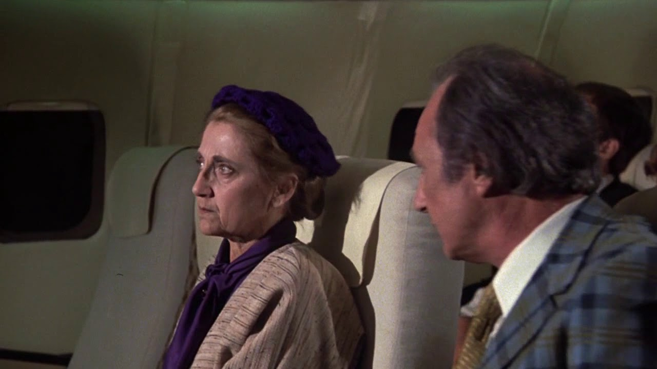 """Download Airplane! (1980) """"Would you like a little whisky, Mam...?"""""""