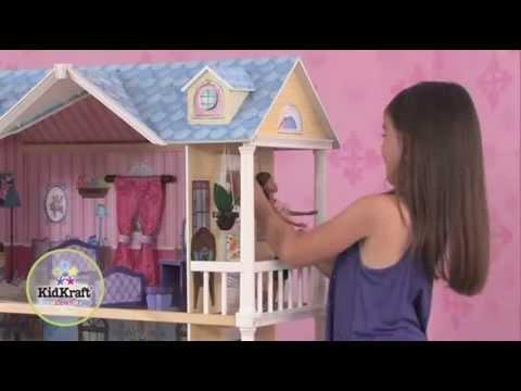Casita para la vida moderna kidkraft 65823 youtube for Casa moderna kidkraft