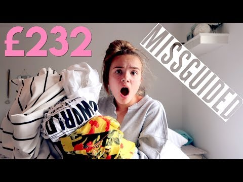 I SPENT £232 ON A MISSGUIDED HAUL