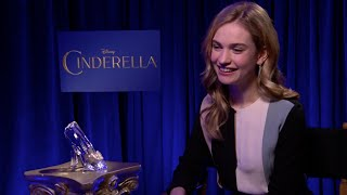 Lily James, Princess Cinderella 2015 : Everything is about the dress & the shoes