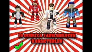ROBLOXTA 80 ROBUXA CHARACTERS (no 4)