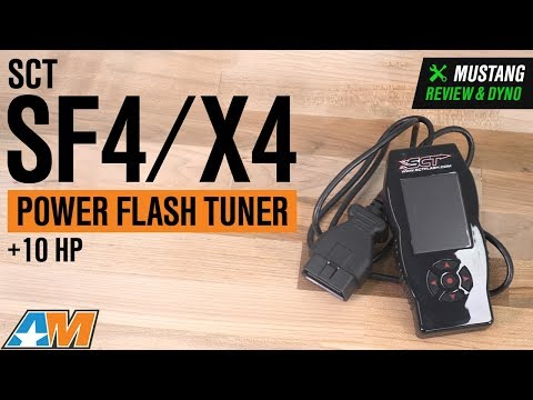 1996-2017 Mustang SCT SF4/X4 Power Flash Tuner Review & Dyno
