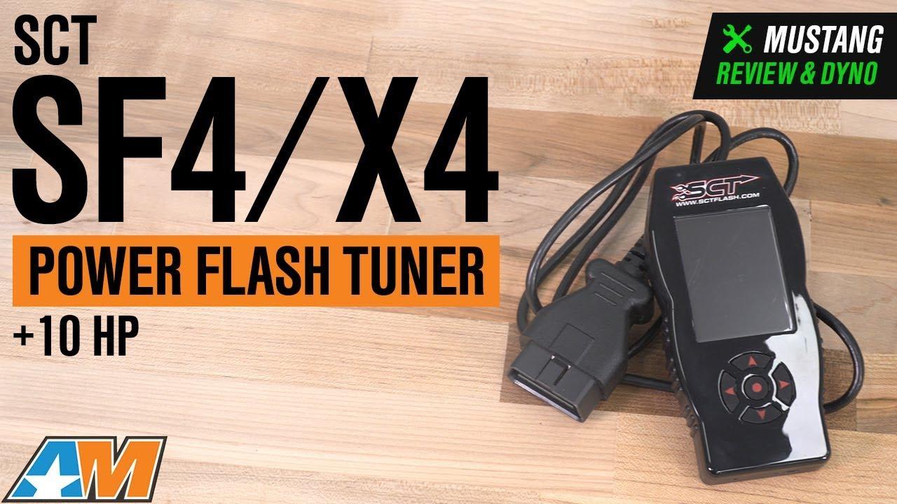 SCT SF4/X4 Power Flash Tuner (96-19 All)