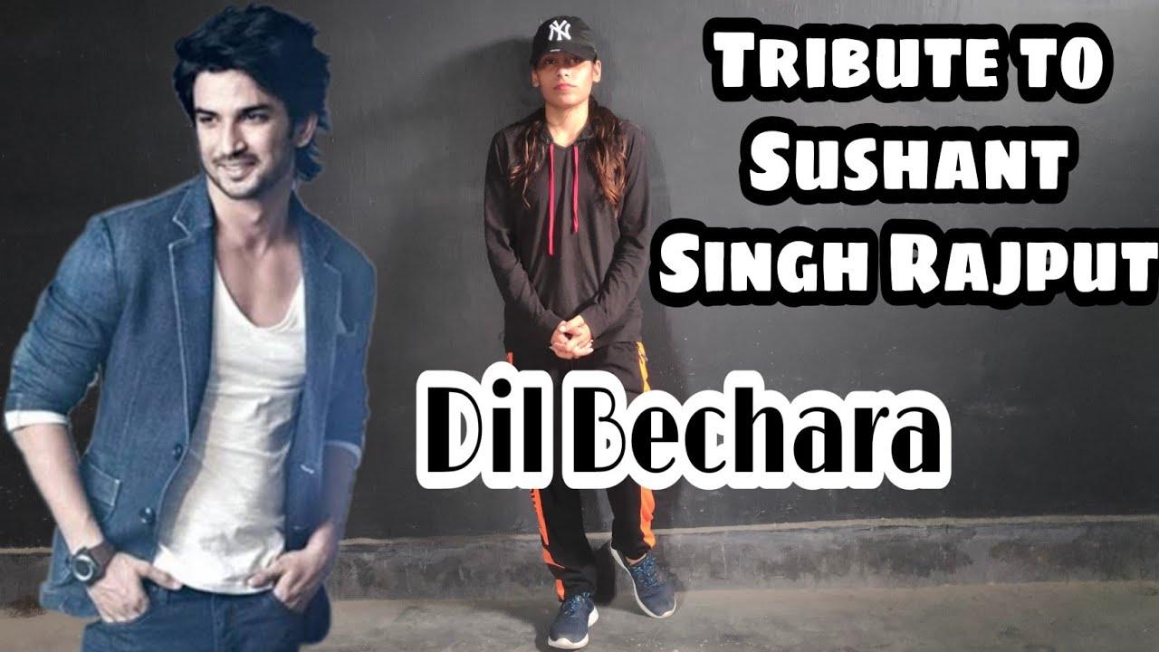 Dil Bechara Dance Video | TRIBUTE TO SUSHANT SINGH RAJPUT ❤️ | A R Rehman