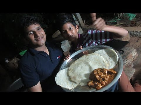 Village food factory /Big Pathiri-Chicken Curry Cooking by my Family in my village / village cooking
