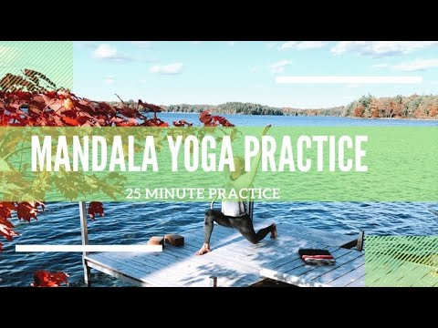 25 MINUTE YOGA FLOW PRACTICE!! | MANDALA YOGA FLOW SEQUENCE!