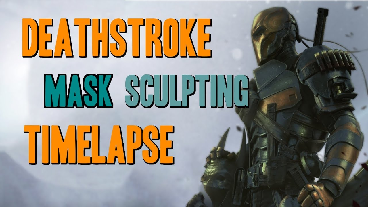 how to make a deathstroke mask