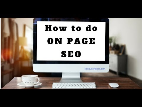 On Page SEO for Ranking On the Search Engines | Lori Ballen
