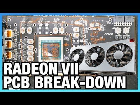 AMD Radeon VII's Interesting VRM & PCB Layout