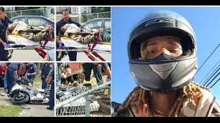 Fetty Wap Gets Hit By Car While Riding Bike Hours After His Debut Album is Released!