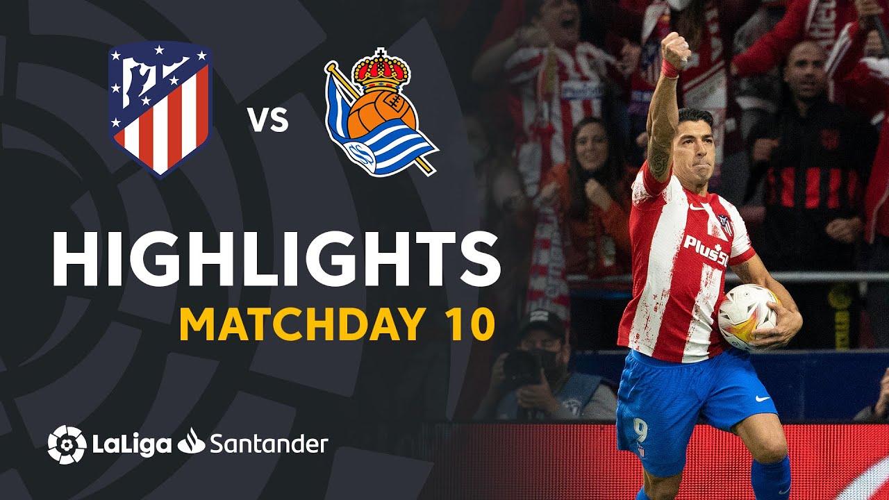 Resumen de Atlético de Madrid vs Real Sociedad (2-2)