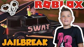 SUPER SWAT TEAM in ROBLOX JAILBREAK | ARRESTING BAD CRIMINALS FOR GREAT REWARDS