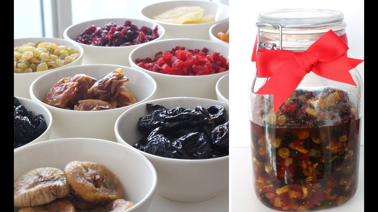 how long should you soak your fruit for a christmas cake