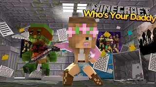 LITTLE KELLY BURNS DOWN BATMANS MANSION - Minecraft who's your daddy