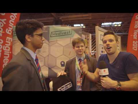 Greg Foot meets the UK Young Engineers of the Year 2017