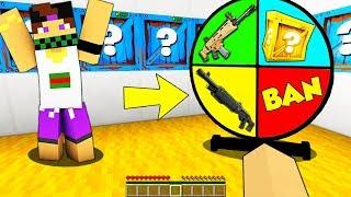 RUOTA DEI LUCKYBLOCK ARMATI! - Minecraft ITA