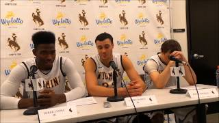 Wyoming players vs. UNLV