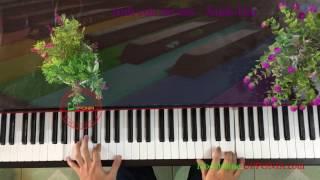 Bí quyết học piano solo Anh Còn Nợ Em (Anh Bằng) -  Xuân Hải [Upponia.com - Tuhocpiano.com]